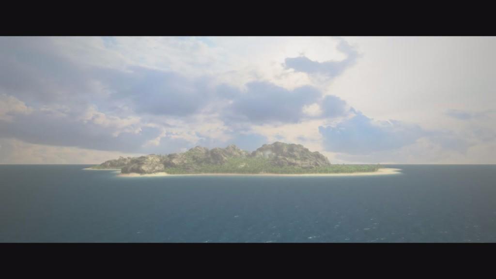 Das ist unser schönes Tropico (in einer Rendersequenz)