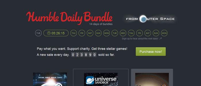 humble daily bundle - Humble Daily Bundle: Zwei Wochen täglich neue Bundles