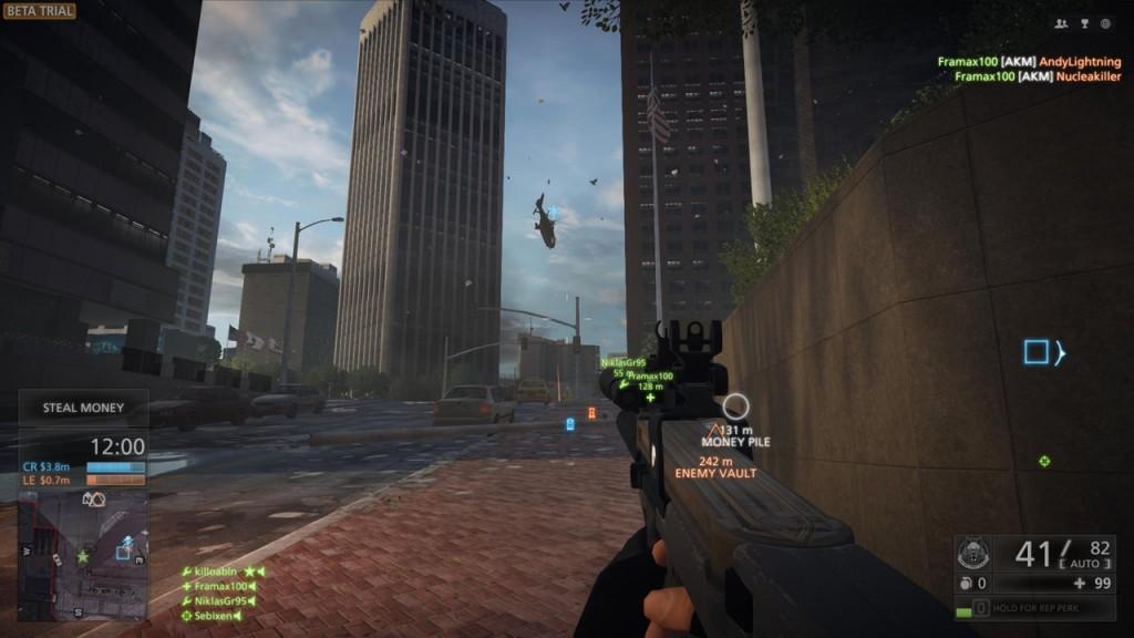 Battlefield Hardline - Wolkenkratzer