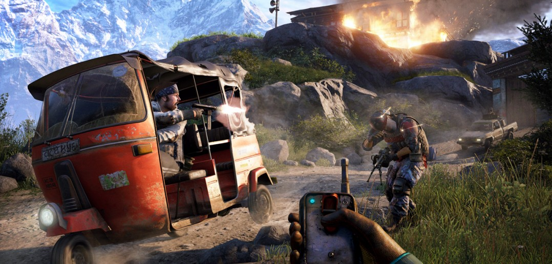 FC4 screen tuktuk e3 140609 8pmPST 1402224704 1078x516 - Far Cry 4: Ultimate Kyrat Edition inkl. Season-Pass