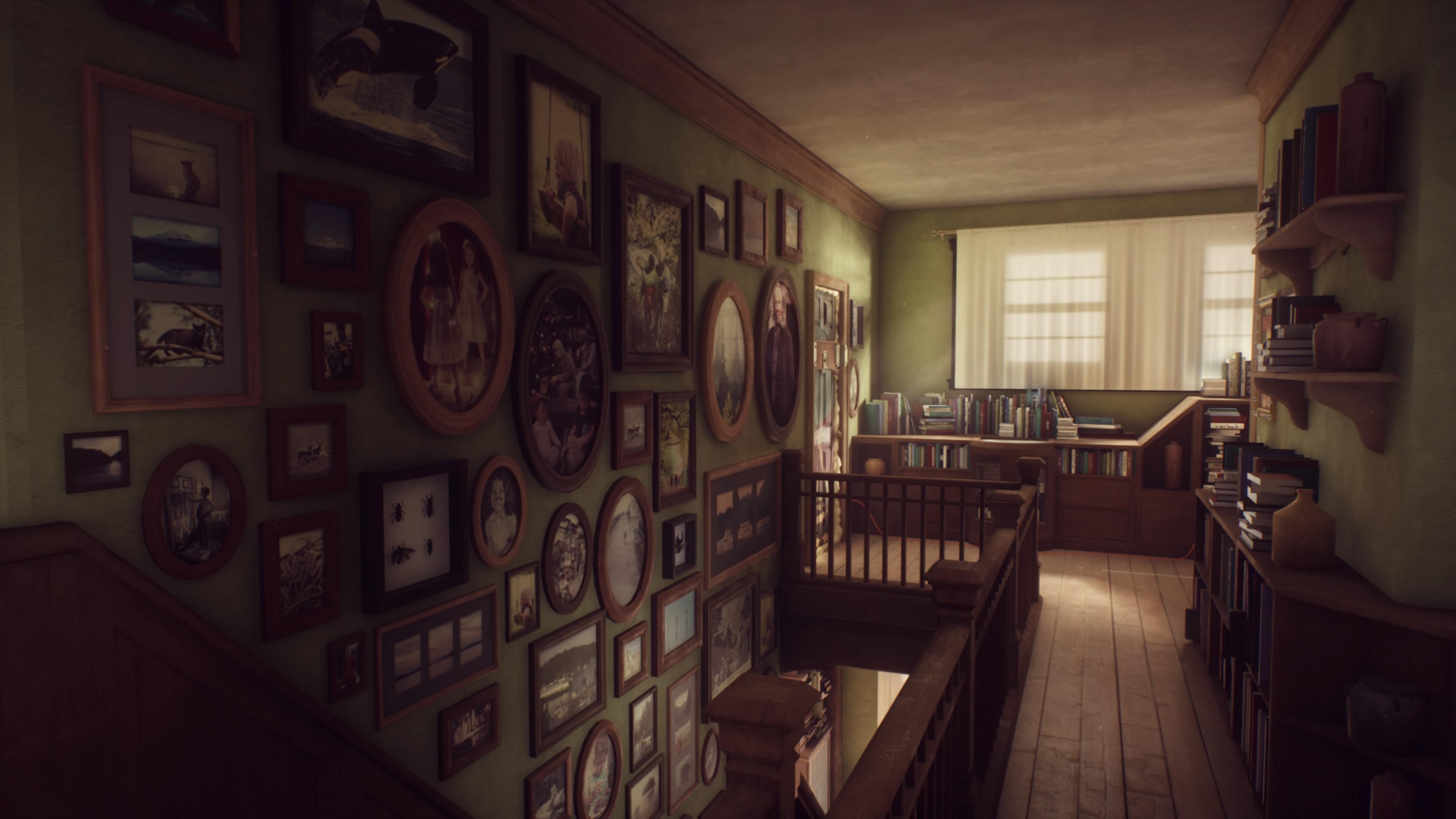 Das Haus ist liebevoll dekoriert.