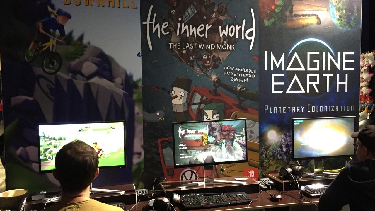 Im Indie-Bereich der EGX 2018 konnten wir uns Imagine Earth anschauen.