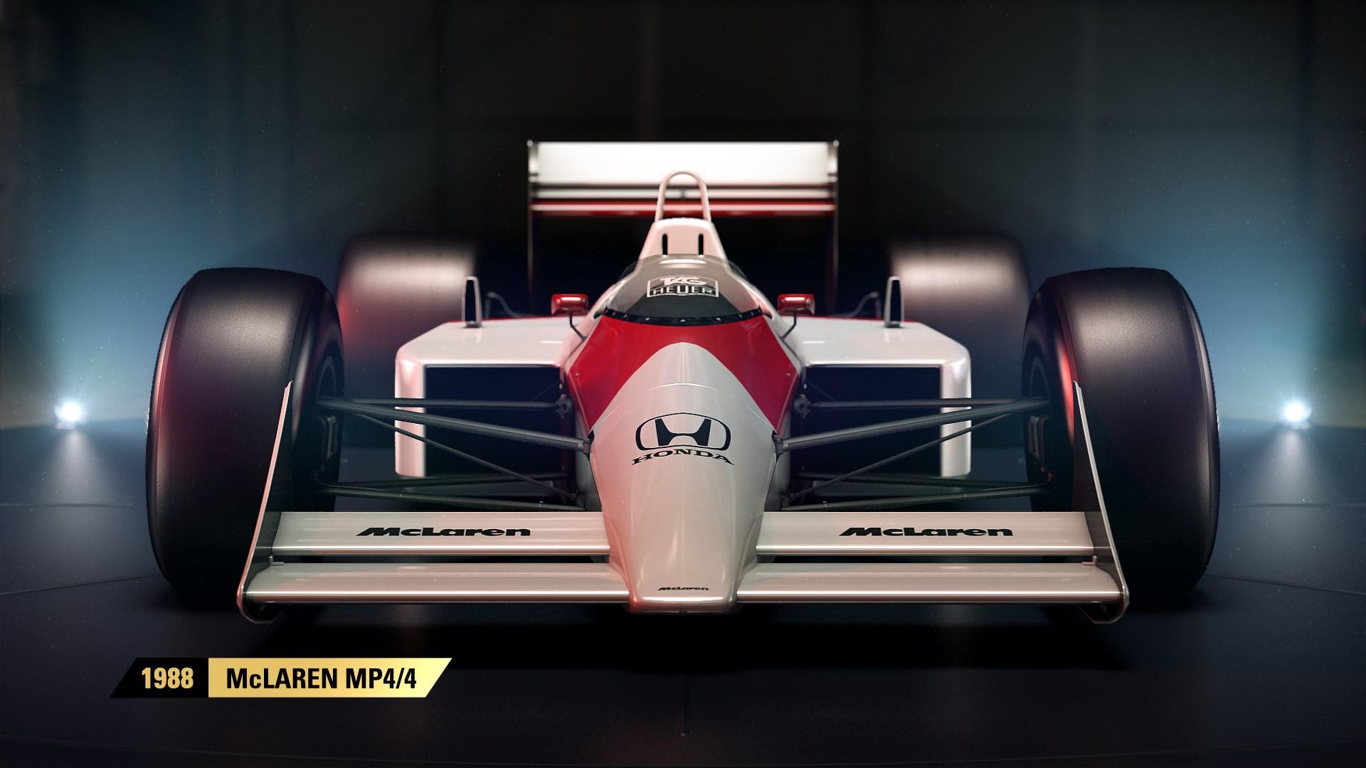 F1 2017 - Der legendäre 1988er McLaren MP4/4.