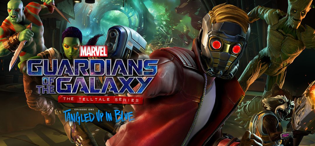 GOTG Titel 1078x500 - Guardians of the Galaxy: The Telltale Series - Episode 1 - Test (PS4)