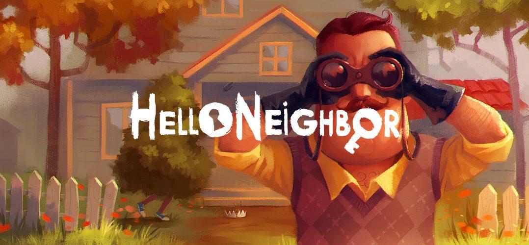 Hello Neighbor titel 1078x500 - Hello Neighbor - Vorschau (PC)