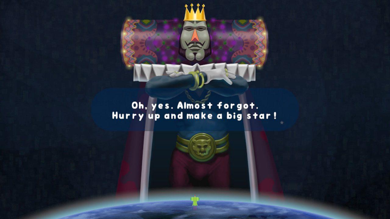 Der König des Kosmos hat's versiebt, wir in Kontrolle seines Sohnes sollen helfen.