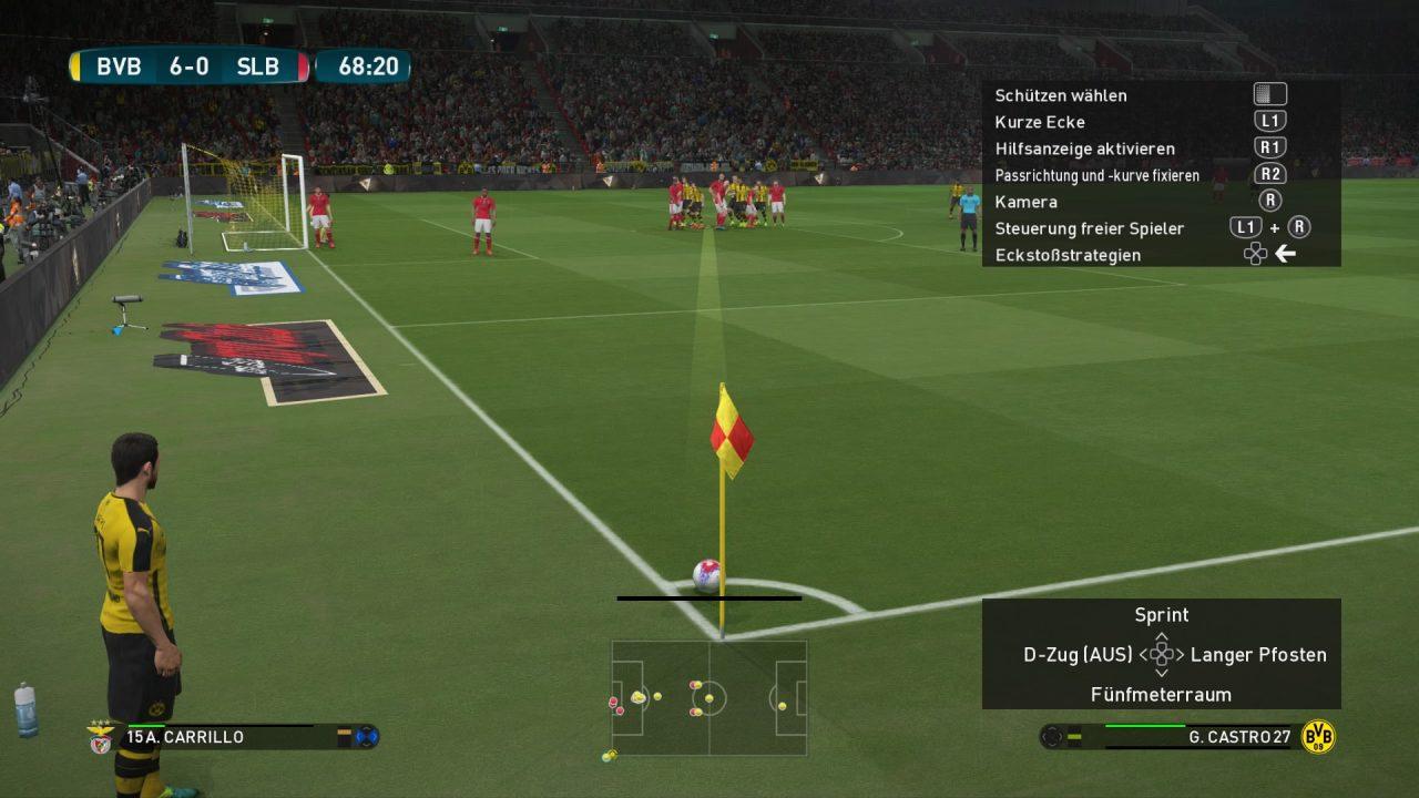 Standards bieten dem Spieler viele neue taktische Varianten.