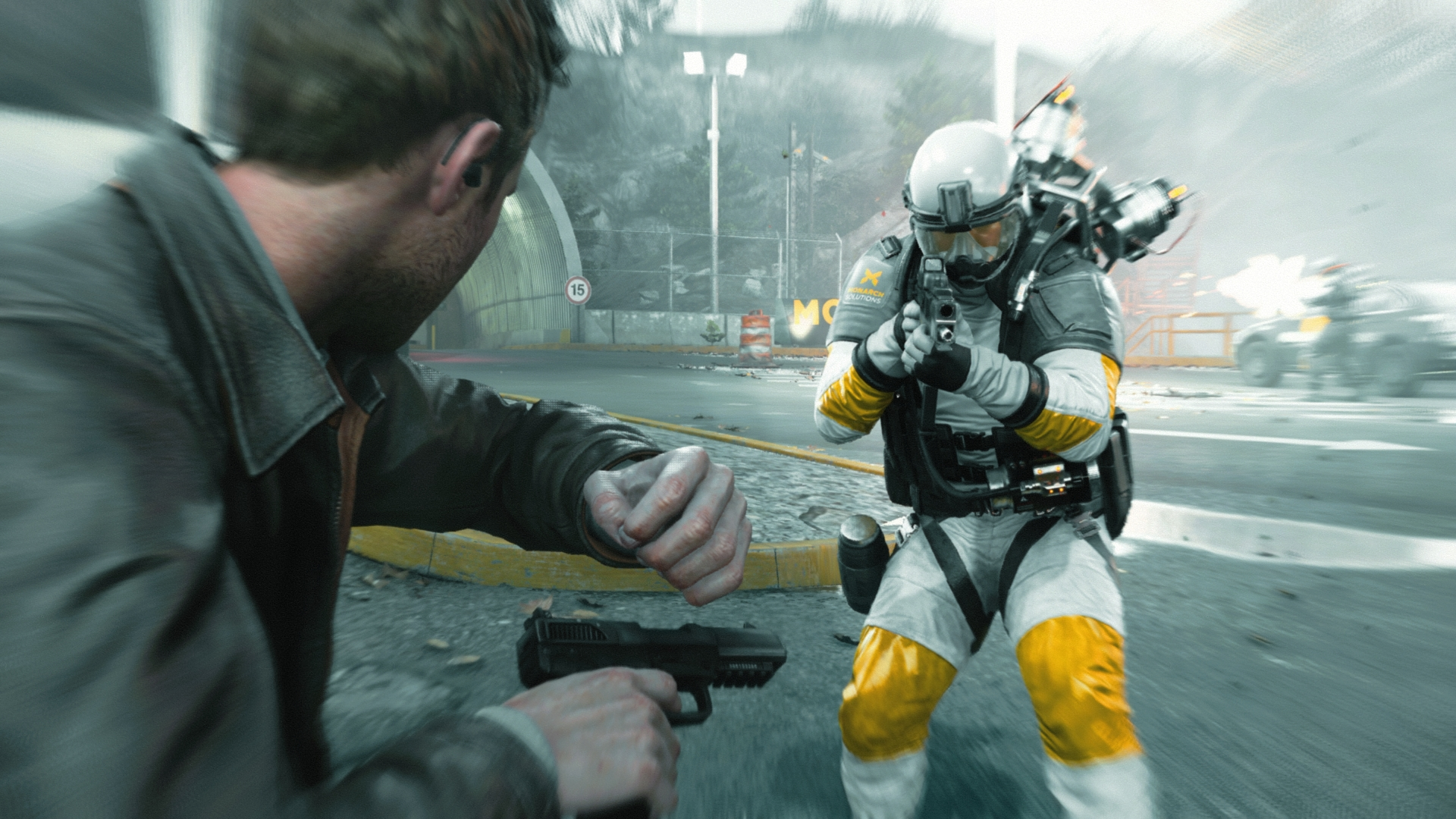 Quantum Break Xbox One Striker - Quantum Break Xbox One striker