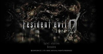 RE0 1 351x185 - Resident Evil Zero HD Remaster - Review (PC)