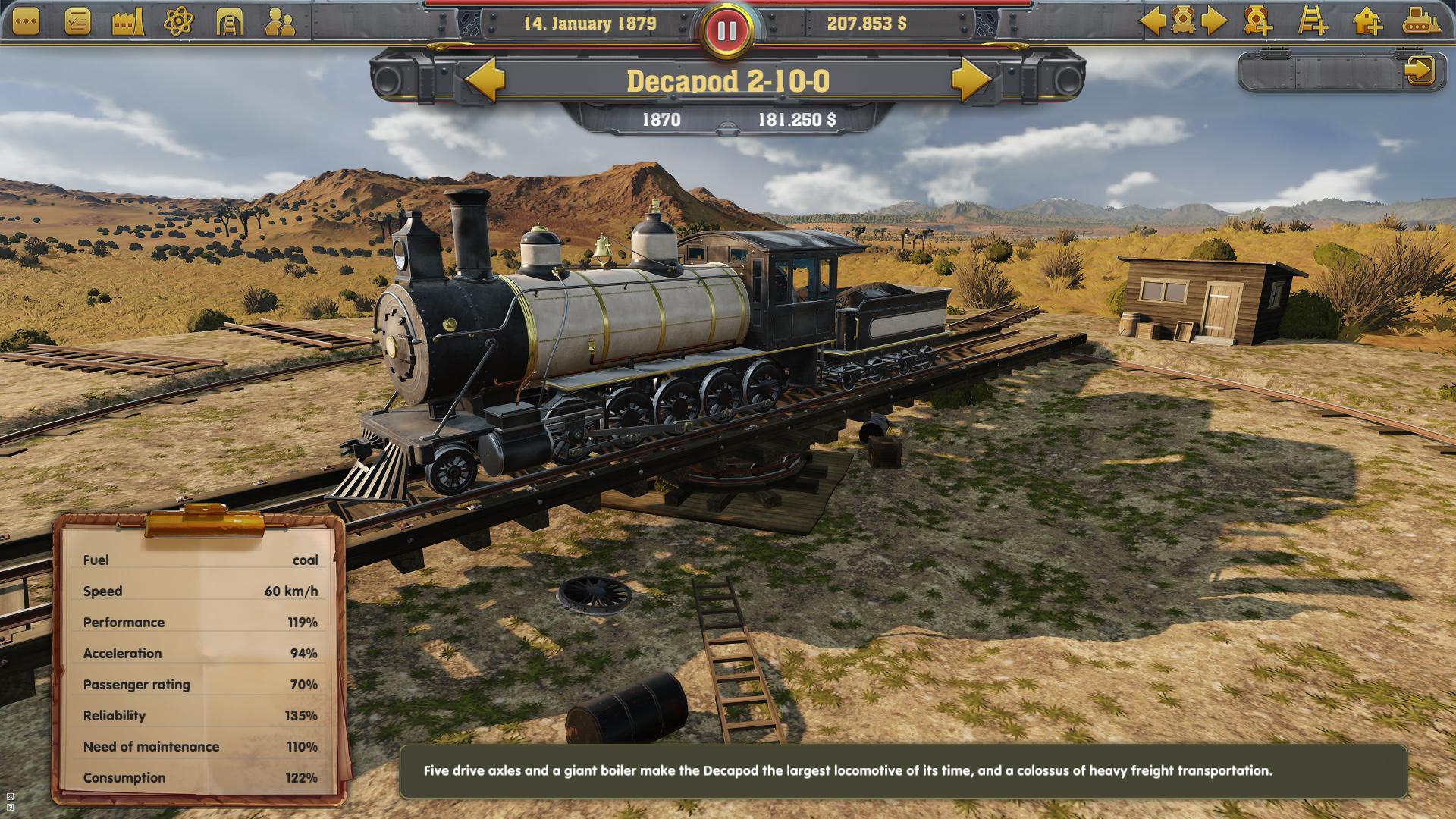 Railway Empire 04 - Railway Empire angekündigt - Tycoon-Simulation-Game