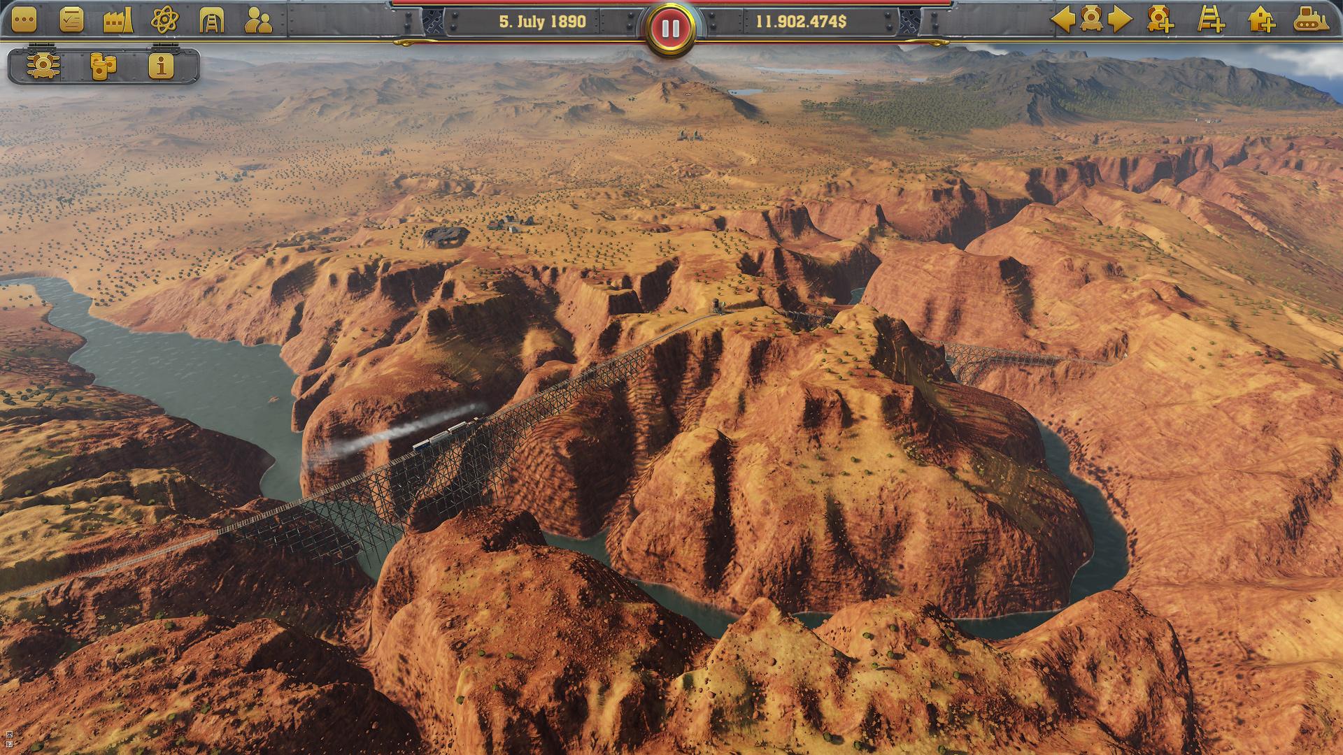 Railway Empire 05 - Railway Empire angekündigt - Tycoon-Simulation-Game