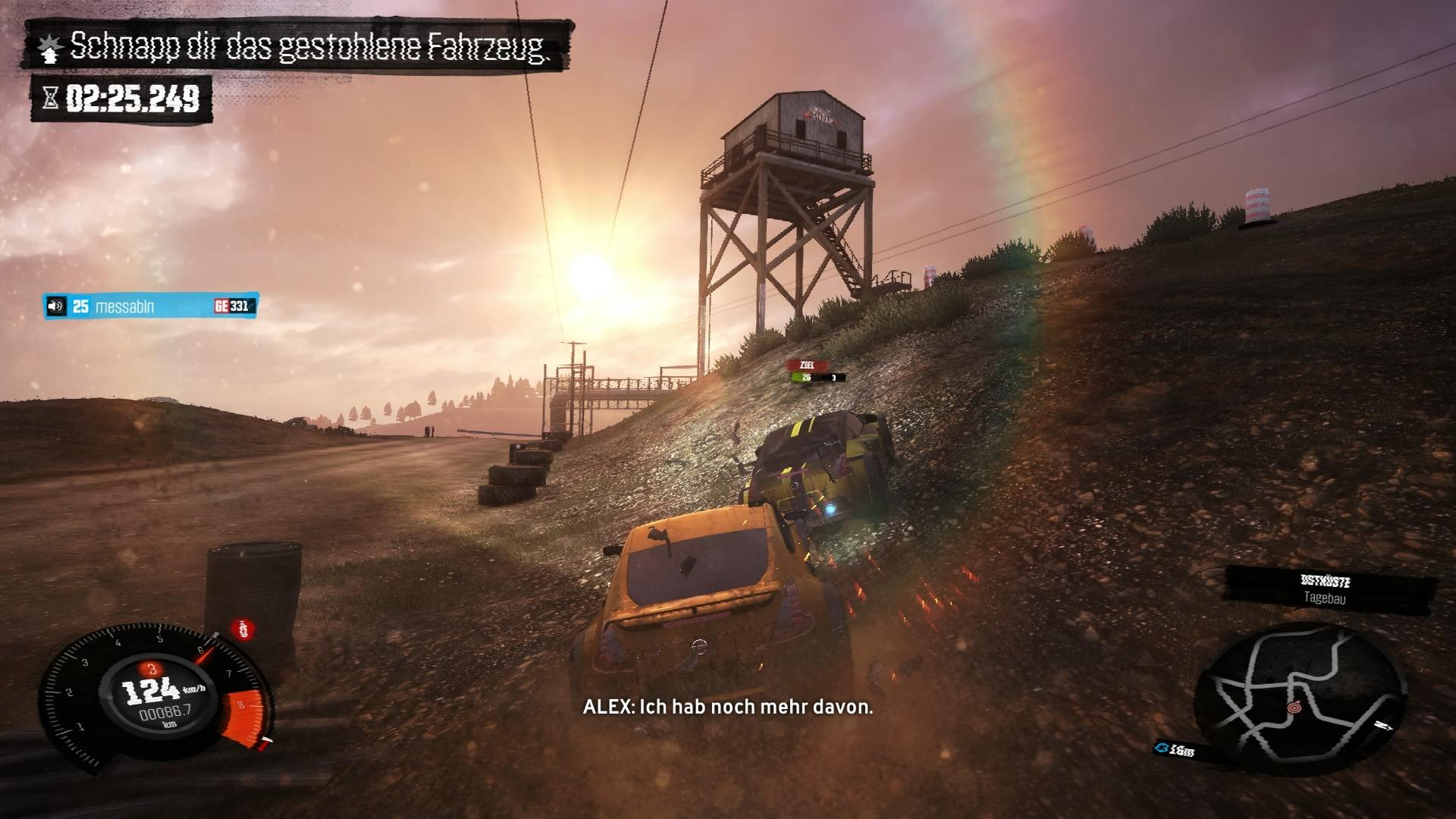 The Crew - Bei Jagd Missionen nimmt der Gegner immer die gleiche Route.