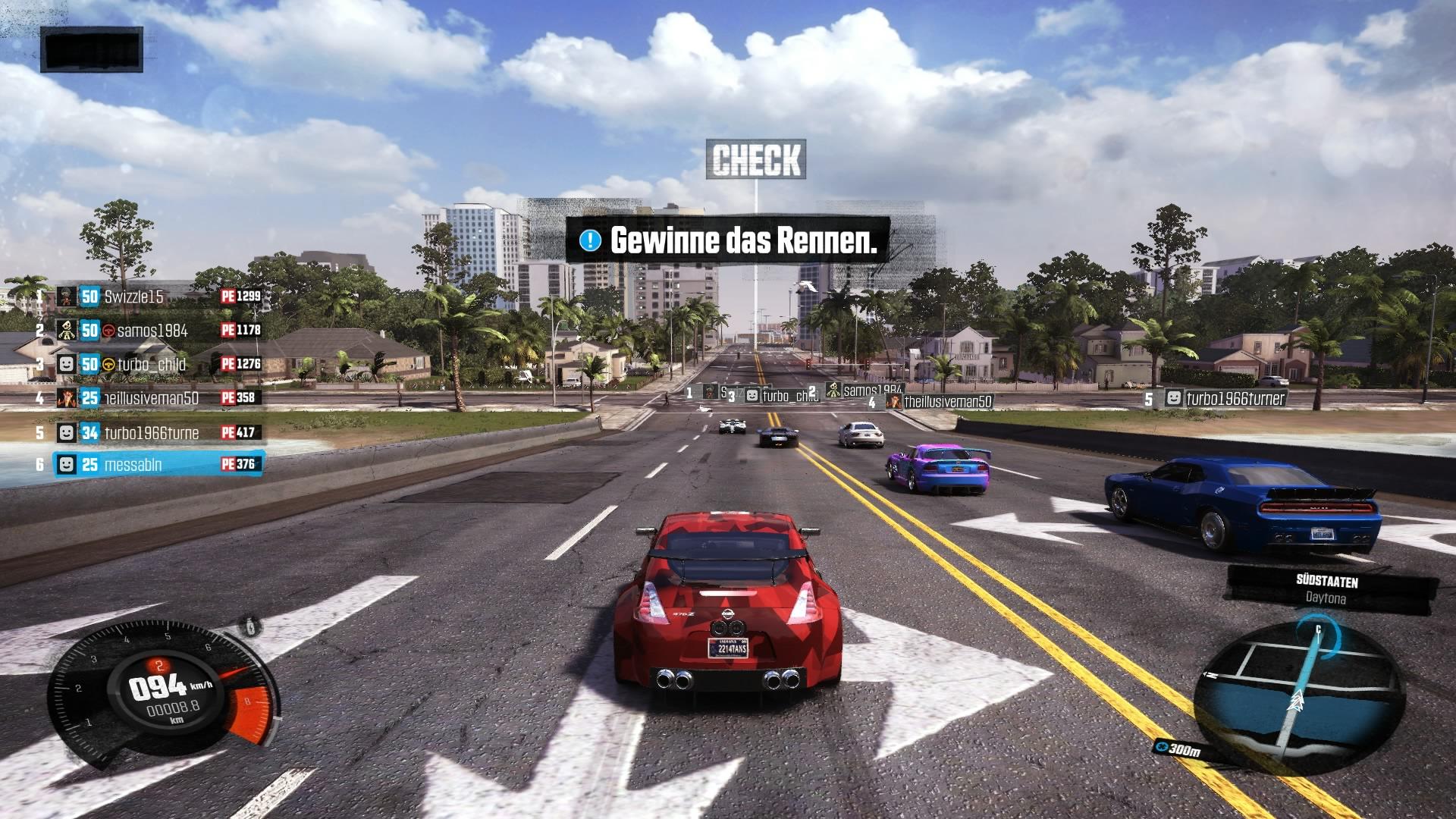 The Crew - Das Spiel macht besonders im Multiplayer-Modus viel Spaß. Auch wenn die Genger teilweise weit höher im Rang sind.