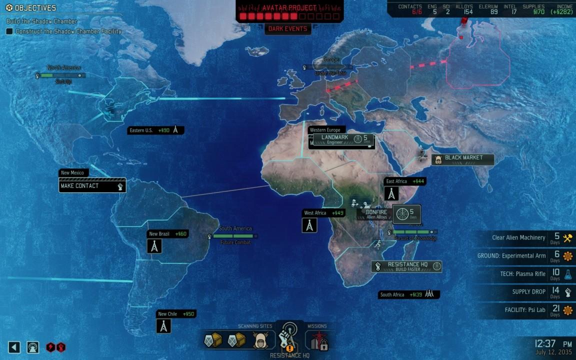 Hier zu sehen: Die neue Weltkarte