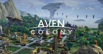 aven colony titel 351x185 - Aven Colony - Test (PC)