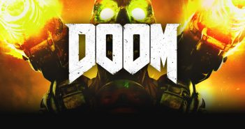 doom title 351x185 - Doom - Review (PC)