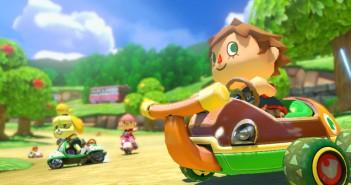 mario kart wii u animal crossing 351x185 - Mario Kart 8: Neue Strecken, Charaktere und Fahrzeuge