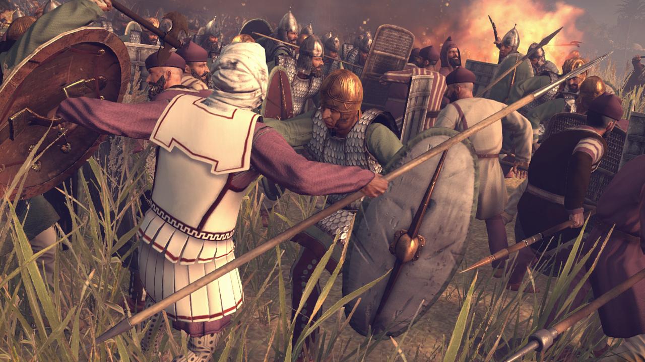 Die Total War-Serie mixt Runden- mit Echtzeitstrategie.