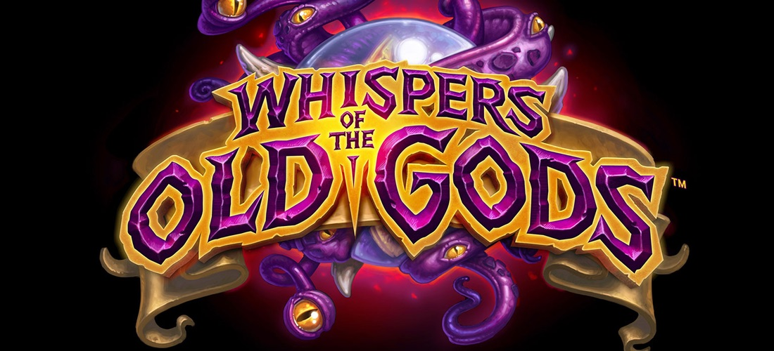 wotog - Hearthstone Expansion - Whispers of the old Gods